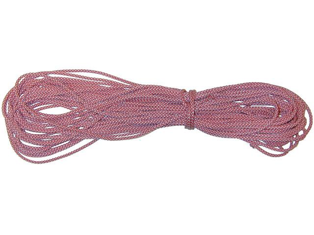 Hilleberg Guy Line Ø3mm 25m, rosso/bianco
